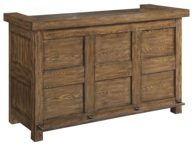 Willowbrook Rustic Ash Bar Cabinet