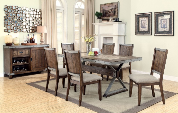 Beckett Natural Mango Dining Room Set