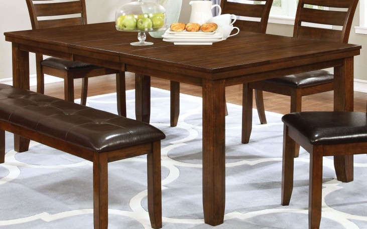 Maxwell Golden Brown Dining Table