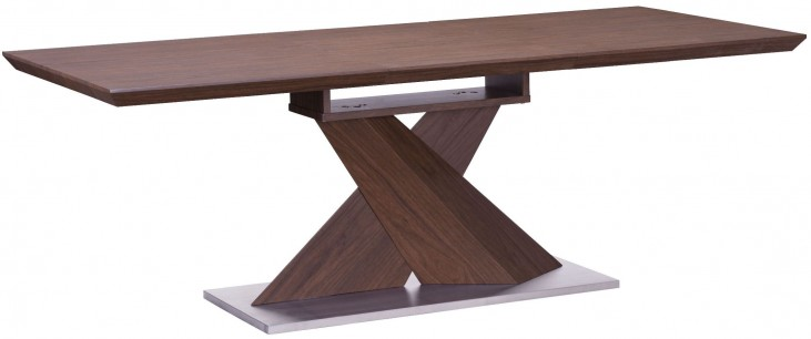 Jaques Walnut Extendable Rectangular Dining Table