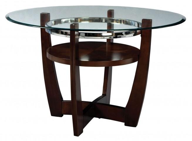 Apollo Rich Merlot Round Dining Table