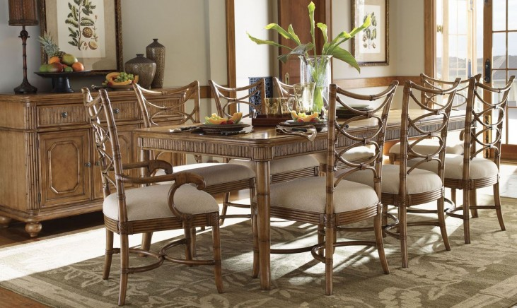 Beach House Boca Grande Rectangular Extendable Dining Room Set