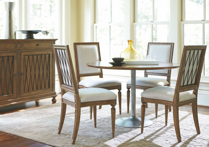 Remix Bannister Round Dining Room Set