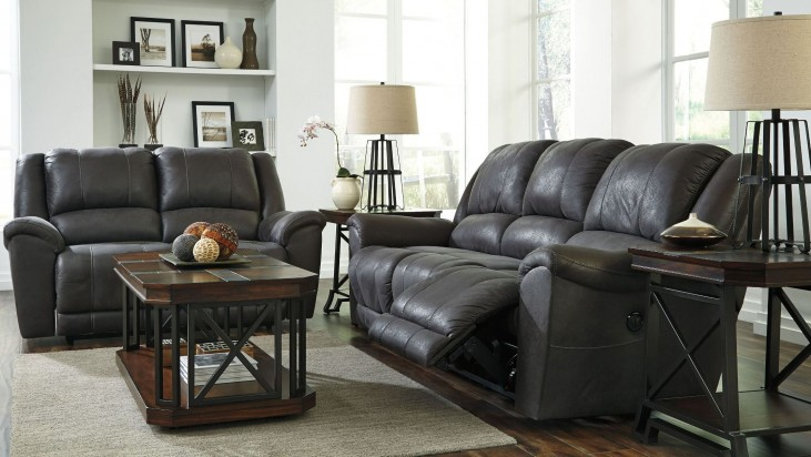 Niarobi Gray Reclining Living Room Set