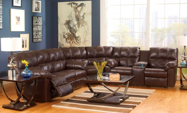 Kennard Chocolate Sectional
