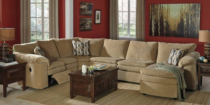 Coats Dune Reclining RAF Sectional