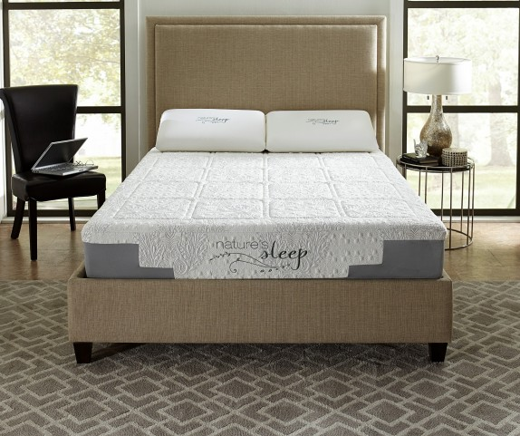"10"" Gel Memory Foam Twin Long Mattress"