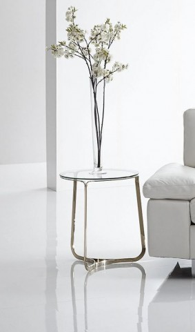 Blake Champagne End Table