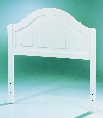 110 White Twin Headboard