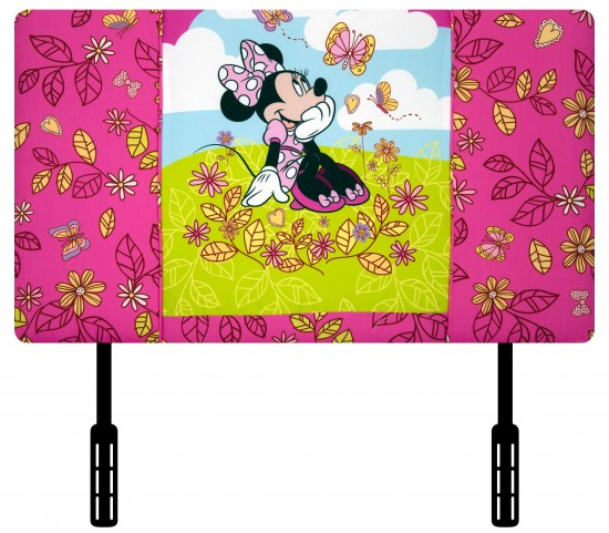 Disney Mickey Mouse Clubhouse Minnie Mouse Cuddly Cuties Upholstered Twin Headboard