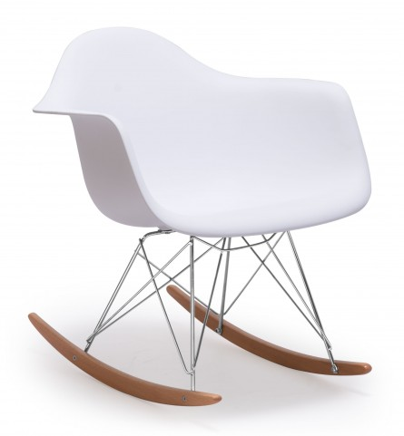 Rocket White Chair