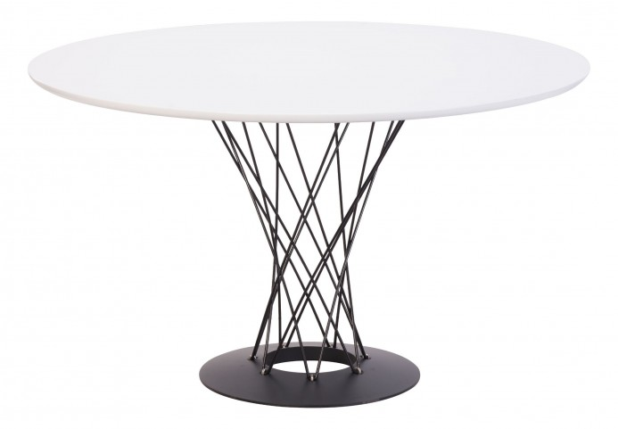 Spiral White Table