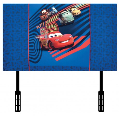 Disney Cars 2 Upholstered Twin Headboard