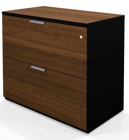 Pro-Concept Assembled Lateral File In Milk Chocolate Bamboo & Black