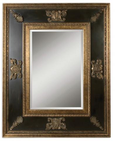 Cadence Unique Antique Gold Mirror
