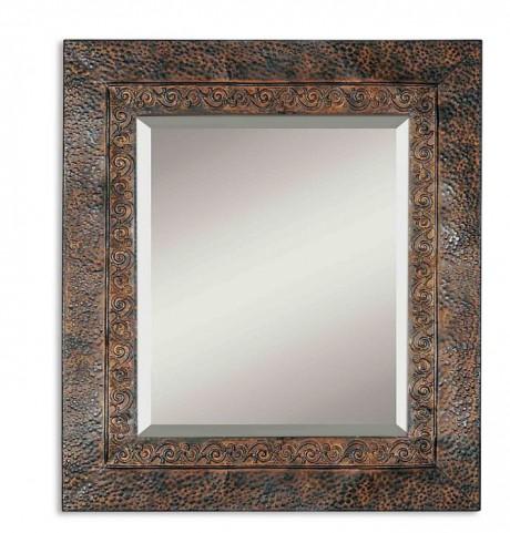 Jackson Rustic Metal Mirror