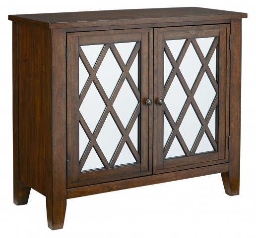 Vintage Sienna Brown Accent Console