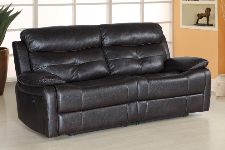Metro Jordan Java Power Reclining Sofa