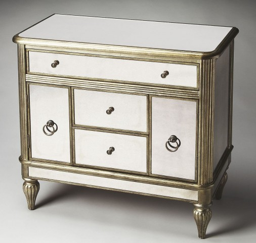 Justine Masterpiece Mirror Console Chest