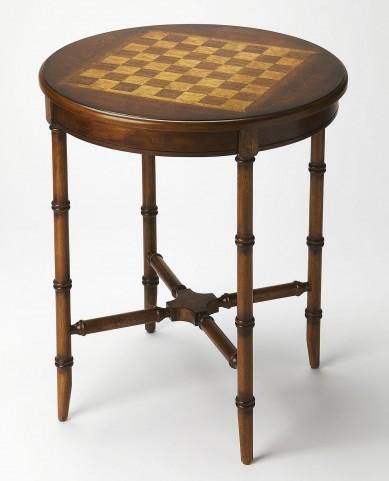 Masterpiece Somerset Olive Ash Burl Game Table