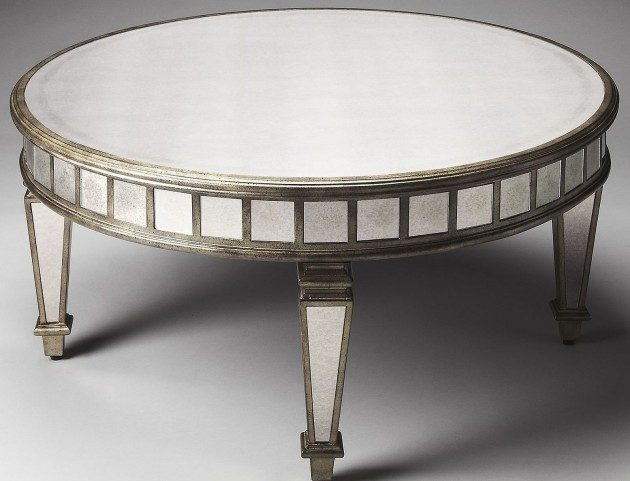 Garbo Masterpiece Mirror Cocktail Table