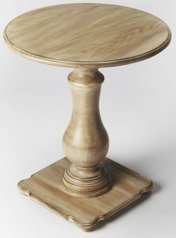 Edenbridge Driftwood Pedestal Table