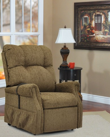 Dawson Tan Two Way Reclining Lift Chair