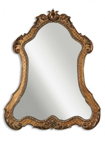 Cleopatra Antique Gold Mirror