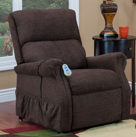 Encounter Chocolate Two Way Reclining Lift Chair