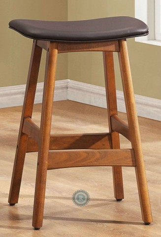 Ride 24 Inch Dark Brown Stool