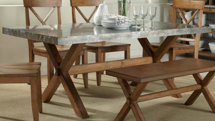 Keaton Trestle Table