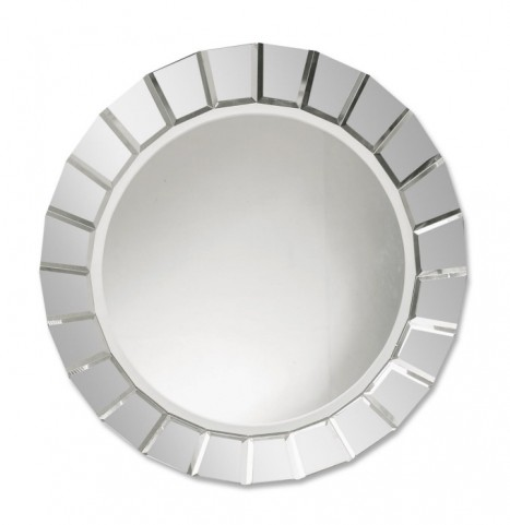 Fortune Frameless Round Mirror