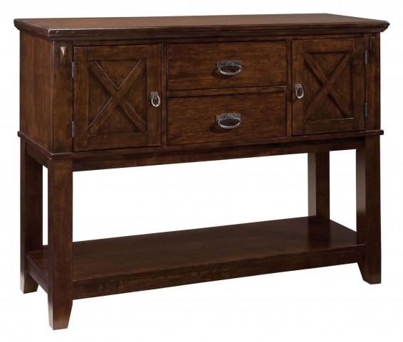 Sonoma Warm Medium Oak Sideboard