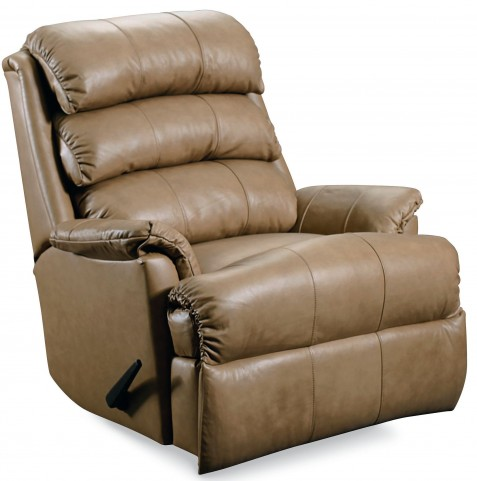 Revive Cosie Vinyl Latte Power Recliner