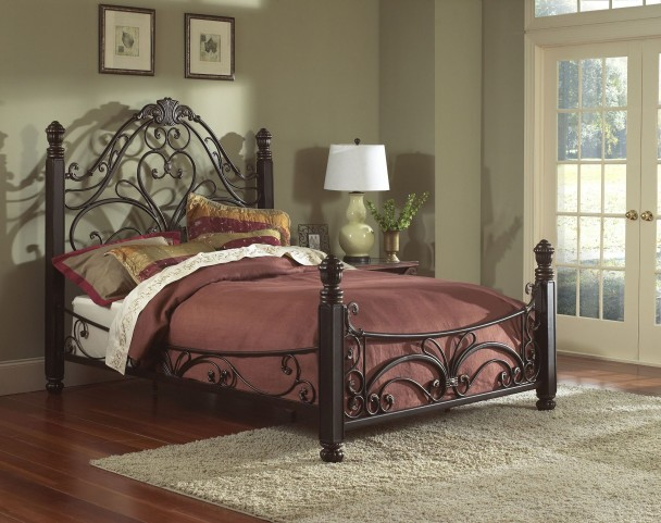 Diana King Panel Bed