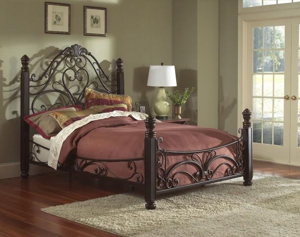 Diana Queen Panel Bed