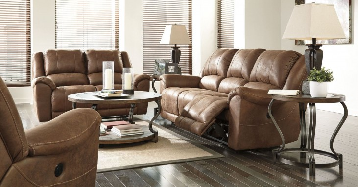 Niarobi Saddle Reclining Living Room Set