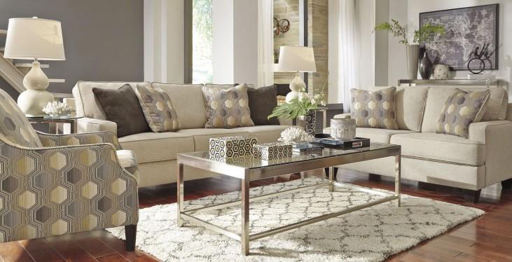 Brielyn Linen Living Room Set