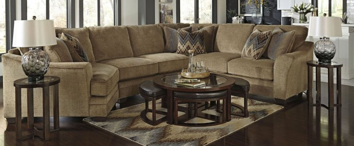 Lonsdale LAF Cuddler Sectional
