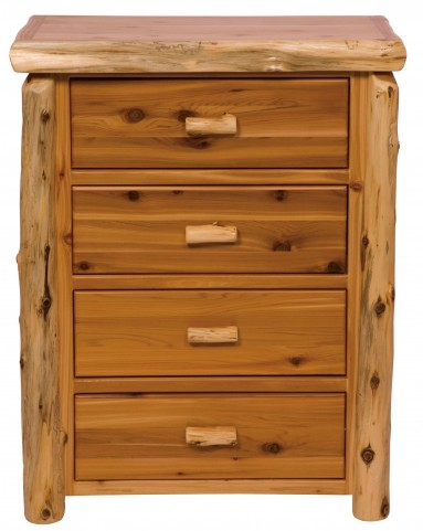 Traditional Cedar Value Four Drawer Chest