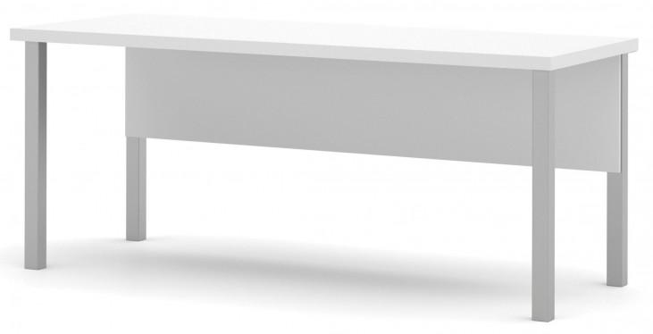 Pro-Linea White Metal Leg Table