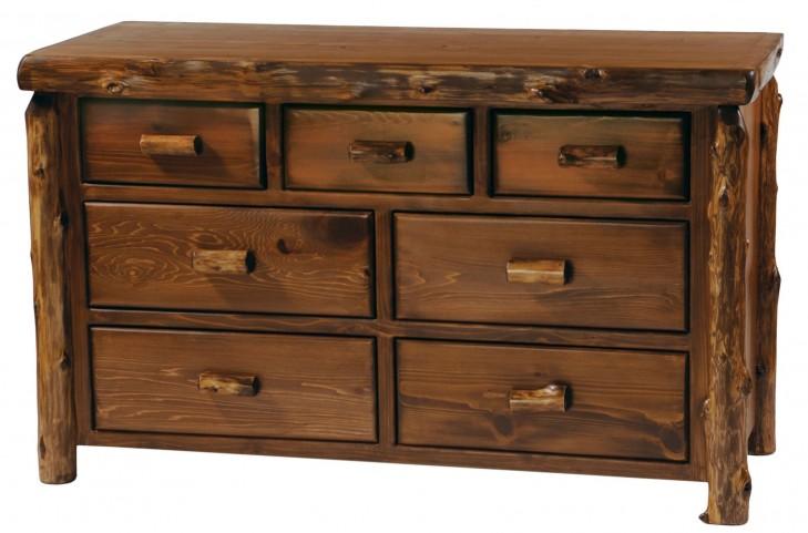 Vintage cedar Premium Seven Drawer Dresser