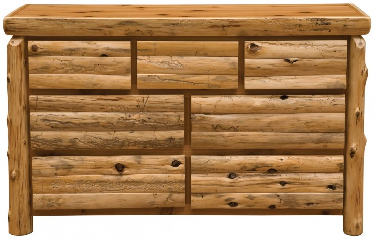 Traditional Cedar Premium Seven Drawer Dresser