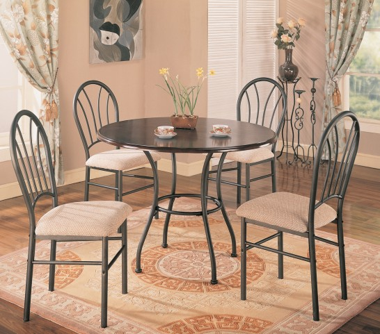 Halle 5 Pack Round Dining Set