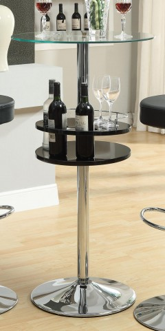 Black Bar Table 120715