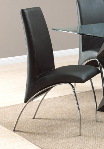 Ophelia Black Chair Set of 2