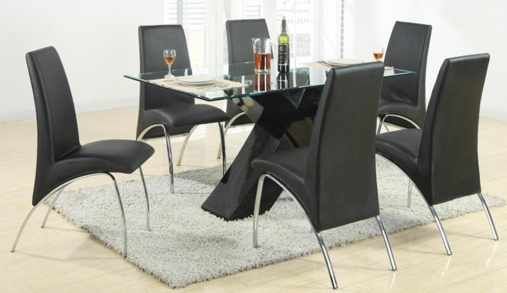 Ophelia Black Dining Room Set