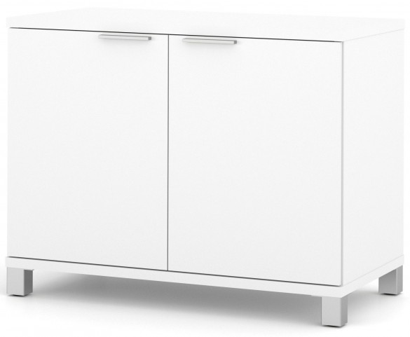 Pro-Linea White 2-Door Storage Unit