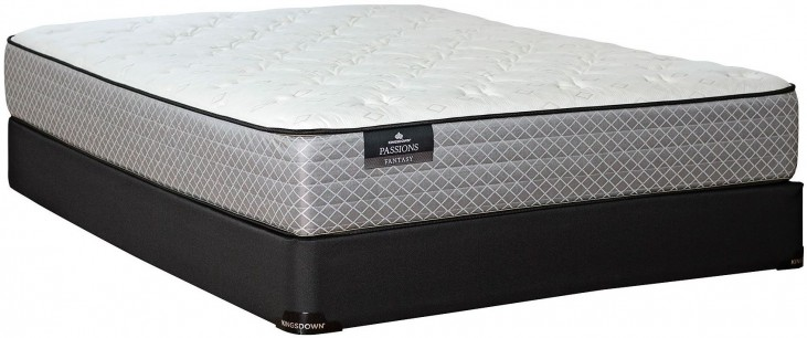 Passions Fantasy Plush Twin Mattress With Low Profile Foundation