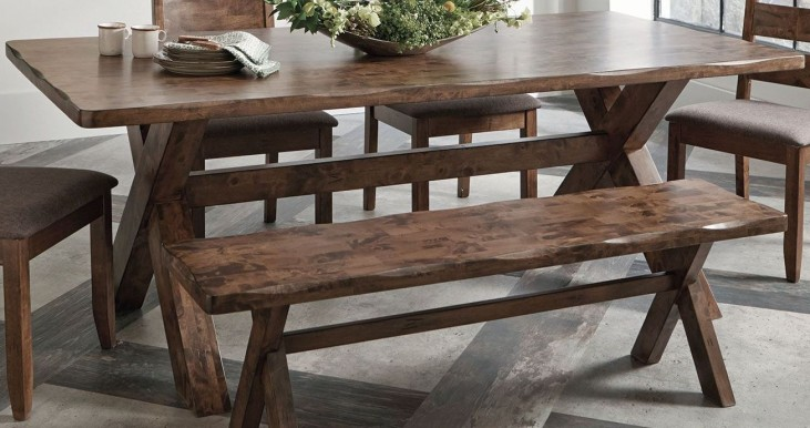Alston Knotty Nutmeg Dining Table